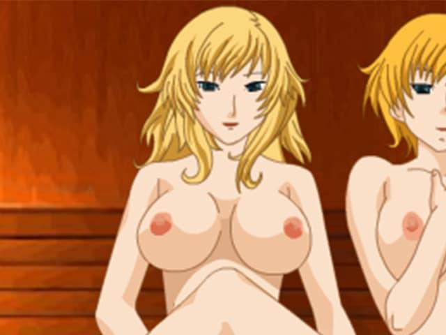 Sexe dans le sauna